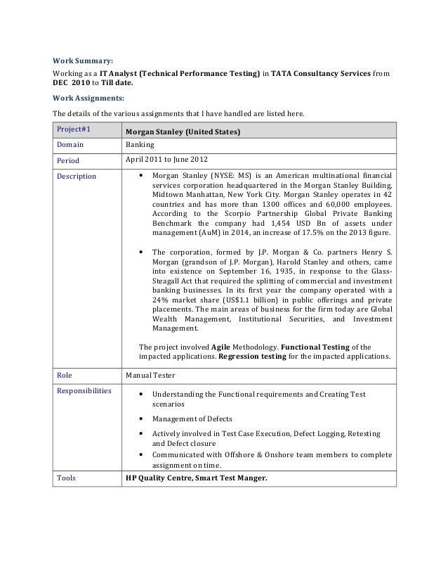 Shivaprasad Resume(Performance Testing)