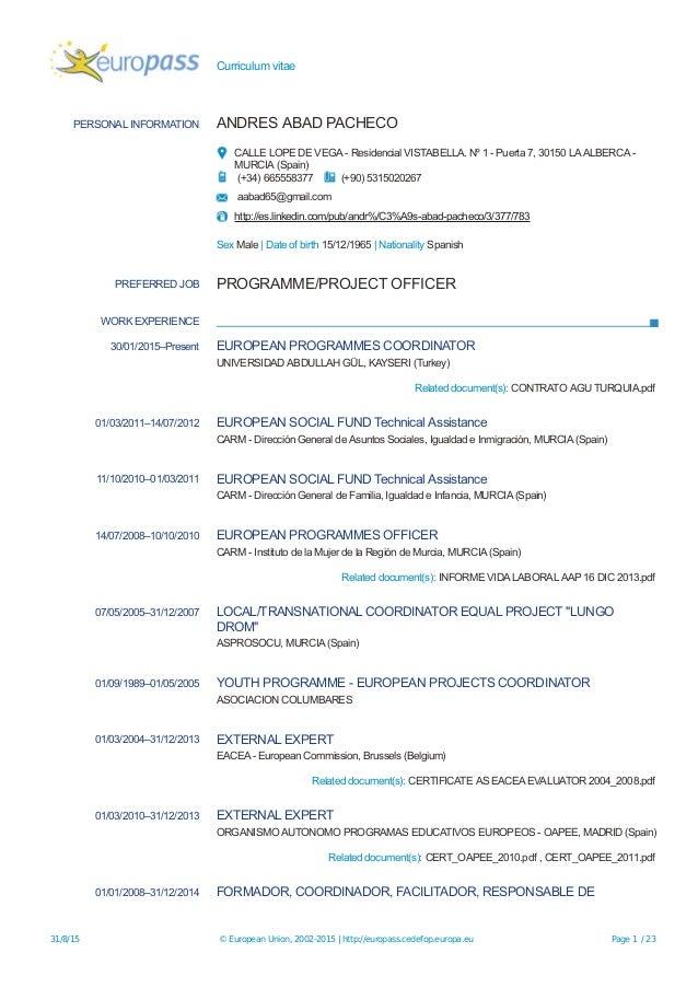 Europass-CV-ESP-20150831-AbadPacheco-EN-2015