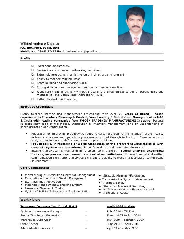 Resume - Wilfred