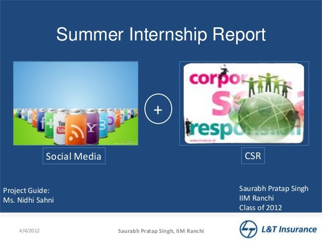 summer internship report in hr at ttsl Hr summer training report internship report national bank of pakistan raza hussain, and hr ex mohammad shawzib at last i, express our deepest gratitude to all those who contributed directly or indirectly to bring this report to this final format, because i would never have been able to achieve this.
