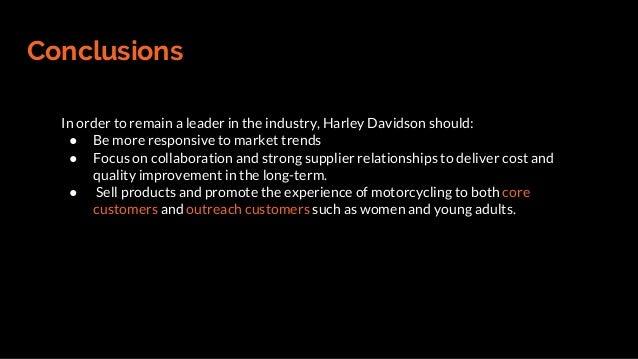 Harley Davidson Build Long Term Customer Relationships