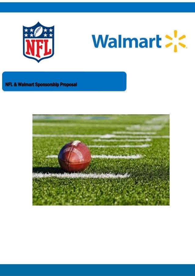 NFL & Walmart Sponsorship Proposal