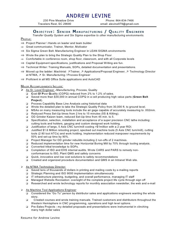 aerospace aviation resume occupational exles sles
