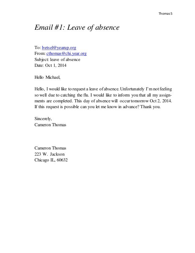 Richmond Park School Letter