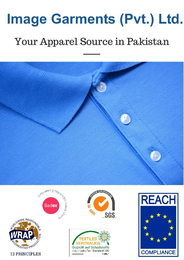 Your Apparel Source in Pakistan