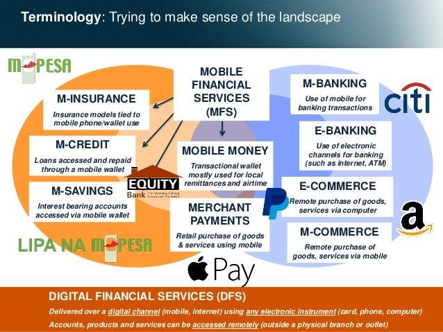 The Digital Financial Services landscape