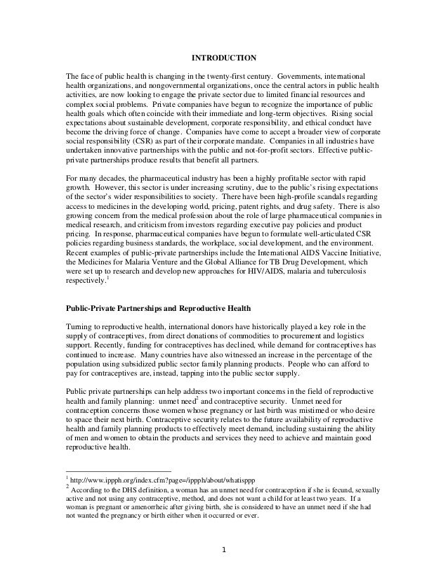 INTRODUCTION The face of public health is changing in the twenty-first century. Governments, international health organiza...