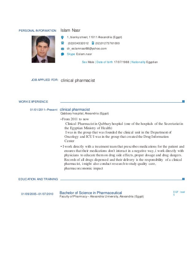 Certified Pharmacy Technician Resume Sample Examples Pharmacist Templates