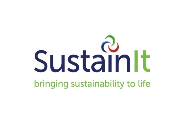 Who are SustainIt? SustainIt are a sustainability DATA consultancy. We understand sustainability data and the challenge it...