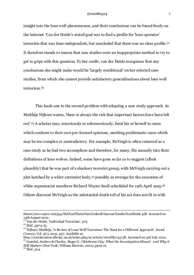 A exemplification essay