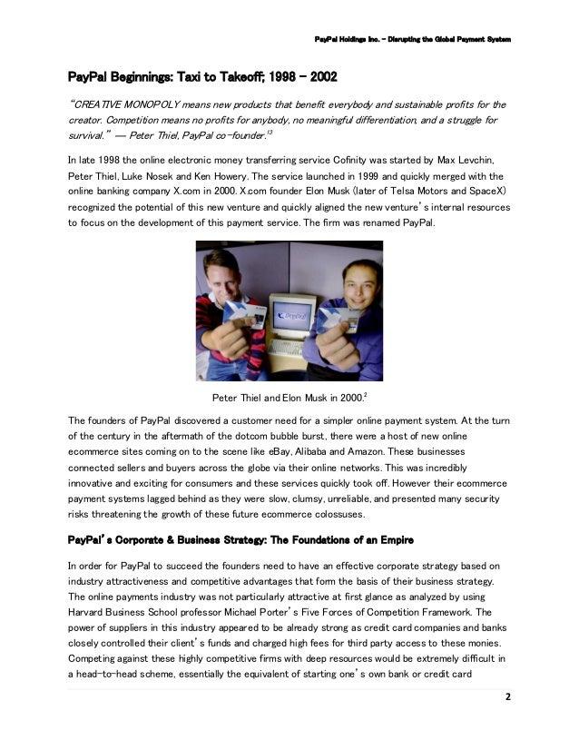 Hoffmeyer Paypal Case Study Bl S2 2016