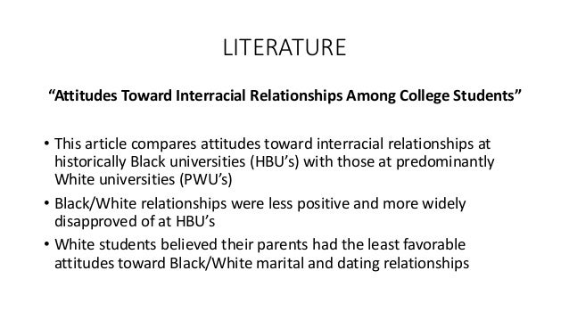 college confidential interracial dating Longitudinal data on interethnic and interracial dating were collected from over 2000 students at a large multiethnic university results indicated that, controlling for relevant background variables, students who exhibited lower levels of ingroup bias, intergroup anxiety, and group identification before college were more likely to date members.