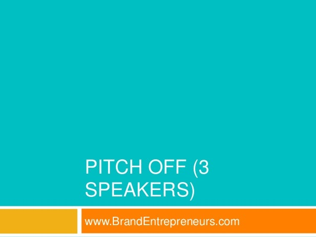 Brandentrepreneurs business boot camp nyc part 4 iot ai pitch off 3 speakers fandeluxe Choice Image