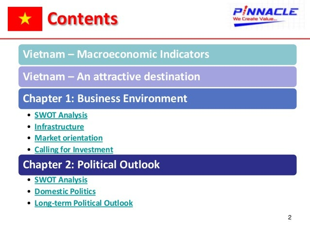 swot of vietnam essay Thus, combining her experience in vietnamese tourism market and my  understanding about international tourists' demands,  swot analysis.