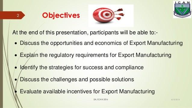 EXPORT MANUFACTURING- a  strategic imperative for Nigeria.pptx Slide 2