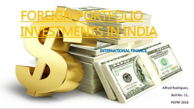 International portfolio investment pdf