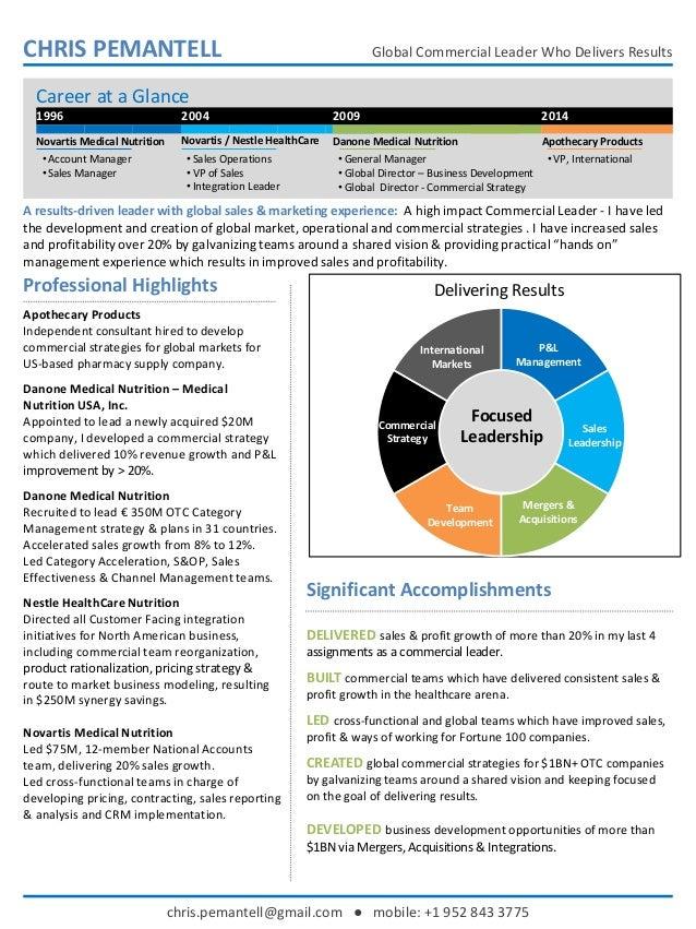 sales leadership pl management international markets mergers acquisitions team development commercial strategy focused