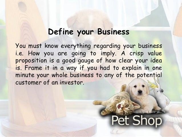 pet shop business plan