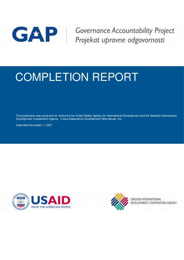 Th r review by the United States Agency for International Development and the Swedish International Development Cooperatio...