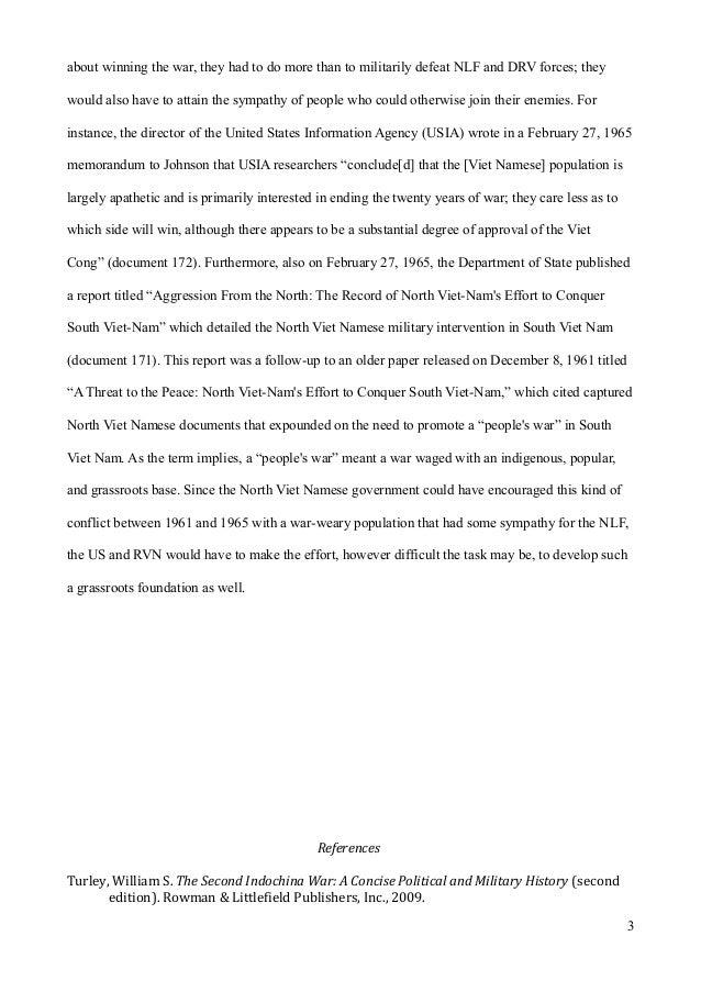 Topics of essay vietnam war extended