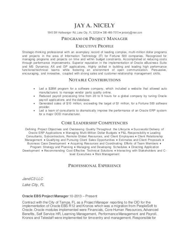 resume 01 2015