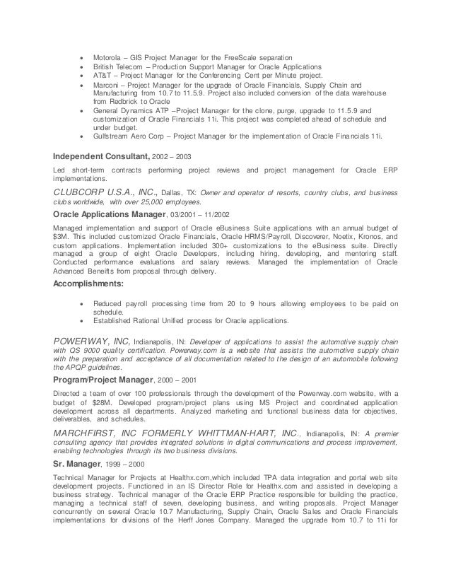 Resume Sample For Professional Technical Marketing Writer Nyc VisualCV  Senior Level Project Manager sample resume page