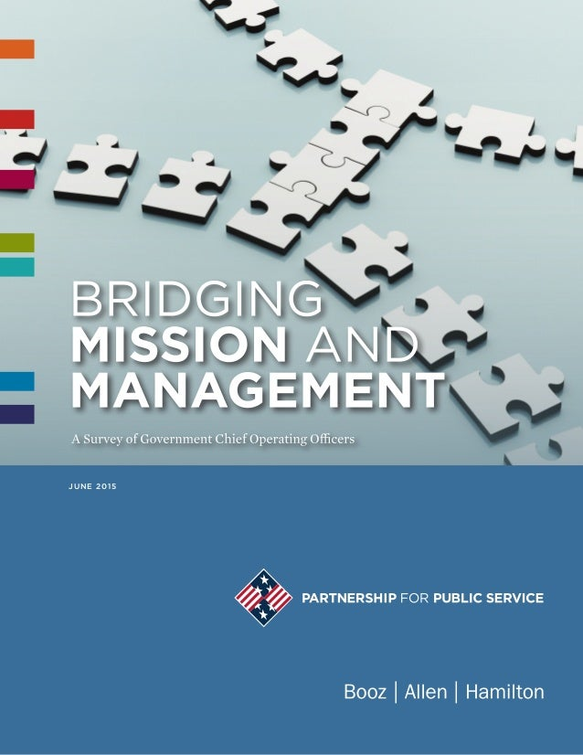 BRIDGING MISSION AND MANAGEMENT a JUNE 2015