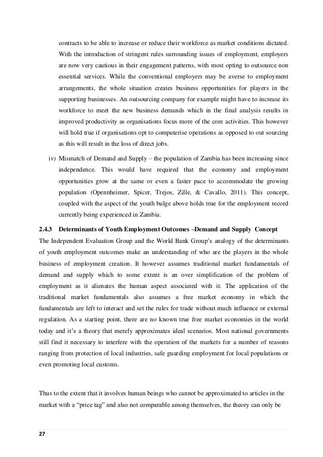 youth unemployment literature review Youth unemployment in the arab region, being more than double the average world rate, justifies why  with a focus on resources providing literature review.