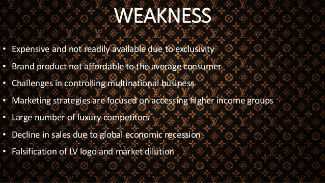 THREATS • World wide Counterfeiting • High competitive brands • Challenges arising out of global recession and impact on J...