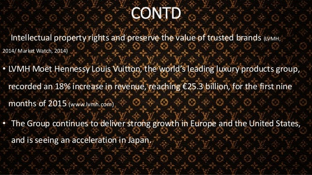 CONCLUSION • Due to the experiences and lessons learnt in Japan, Louis Vuitton has been building its Global strategy • The...