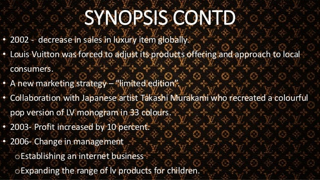 SYNOPSIS CONTD • 2009- Global economic crisis resulted in a decline in sales. Facing a weak economy and a shift in consume...