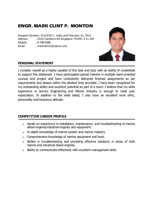 Outstanding Marine Resume Pdf Image Collection Example Resume
