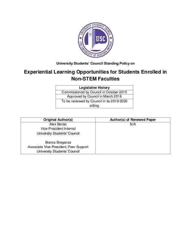 experiential learning essays Writing a good application an experiential learning essay clown henri michaux dissertation help with higher english essay writing.