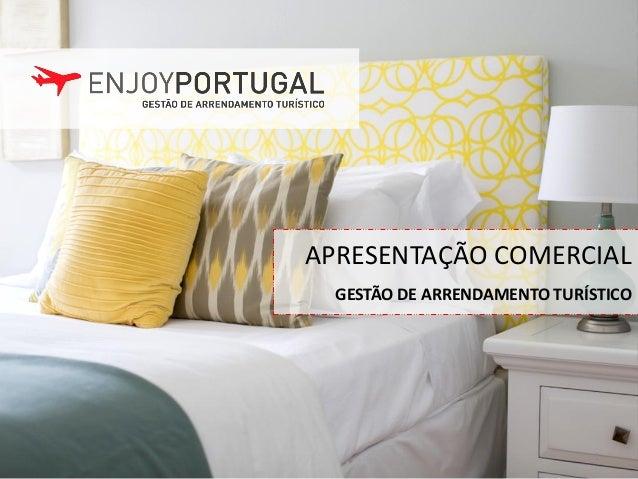1 GESTÃO DE ARRENDAMENTO TURÍSTICO APRESENTAÇÃO COMERCIAL