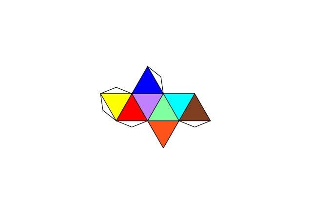 Dado trivial - 0ctaedro