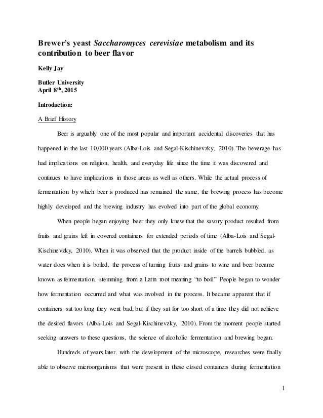 Sample Capstone Research Paper