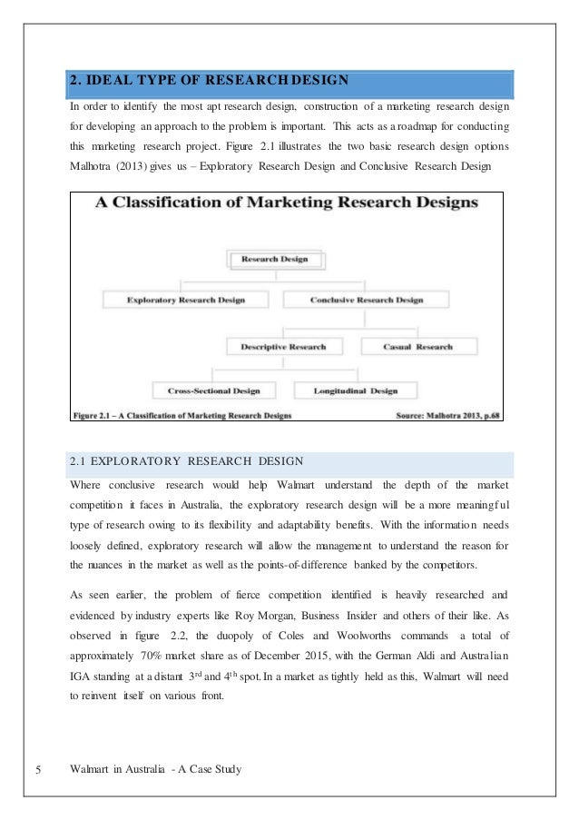 Case study marketing research