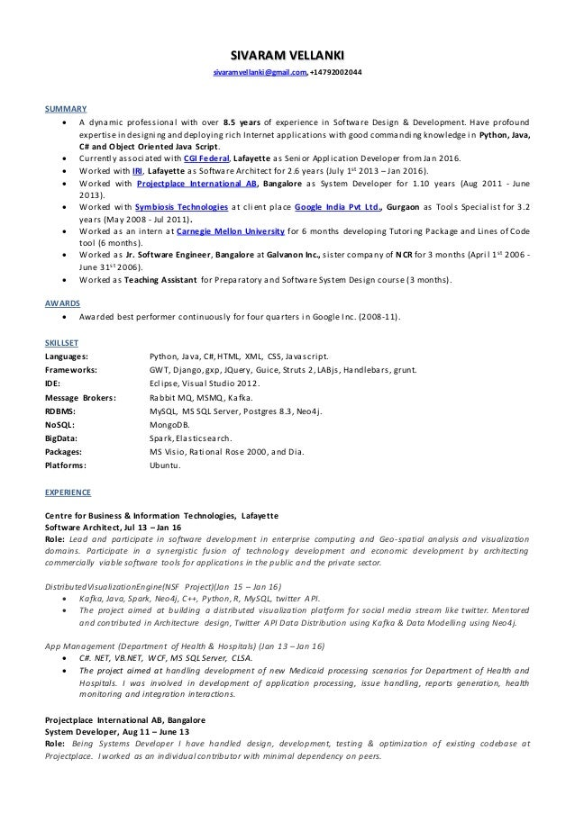 SivaramV_Resume