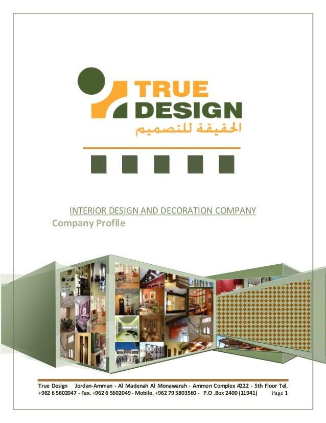 True Design Jordan Amman