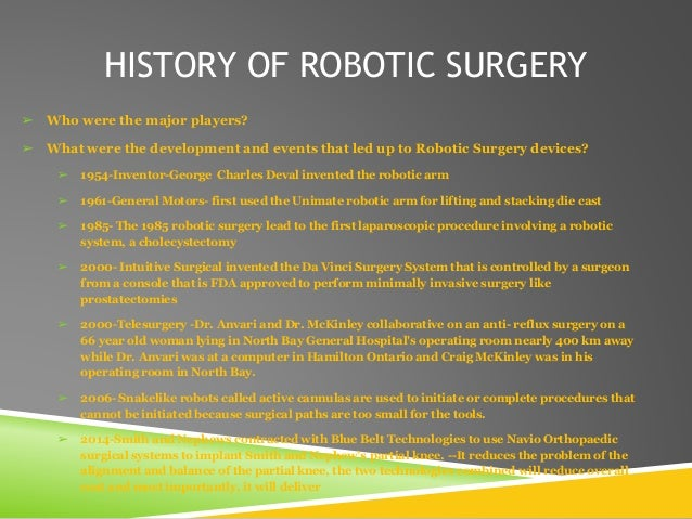 cultural considerations remote or robotic surgery In the latest study to question the value of robotic surgery, researchers from columbia university found that the technology costs significantly more and has a higher.