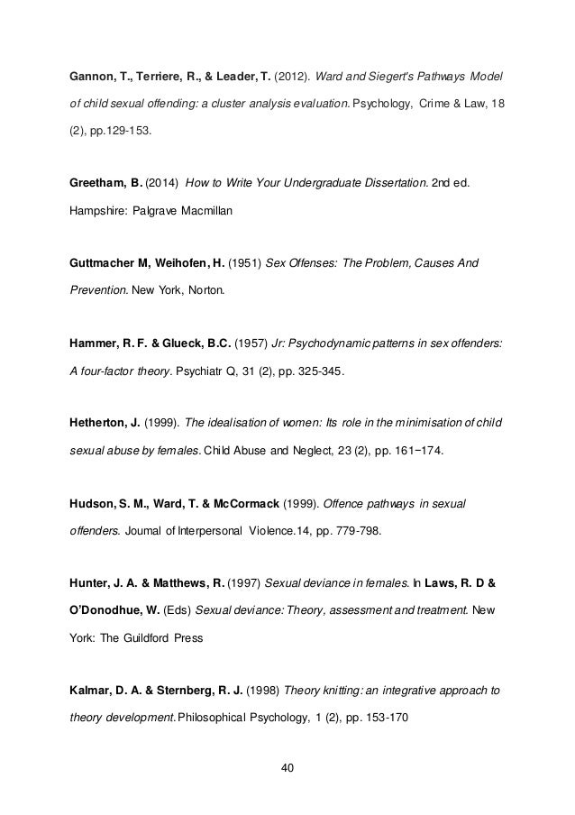 Greetham b (2009) how to write your undergraduate dissertation