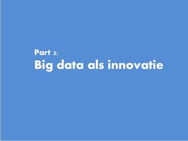 16 Part 3: Big data als innovatie