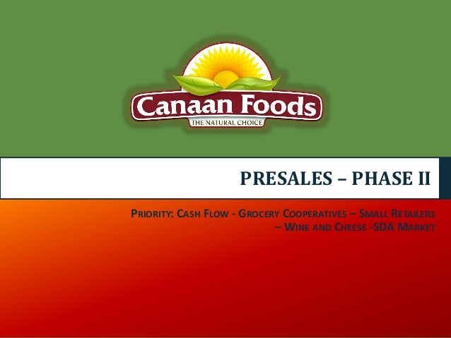 marketing plan phase ii grocery Grocery store retailers,  phase ii was conducted from october 2008 through september 2009127  120 chapter 7: distribution.
