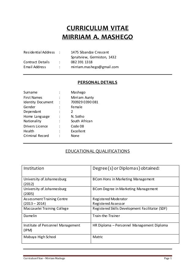 organizational development specialist resume