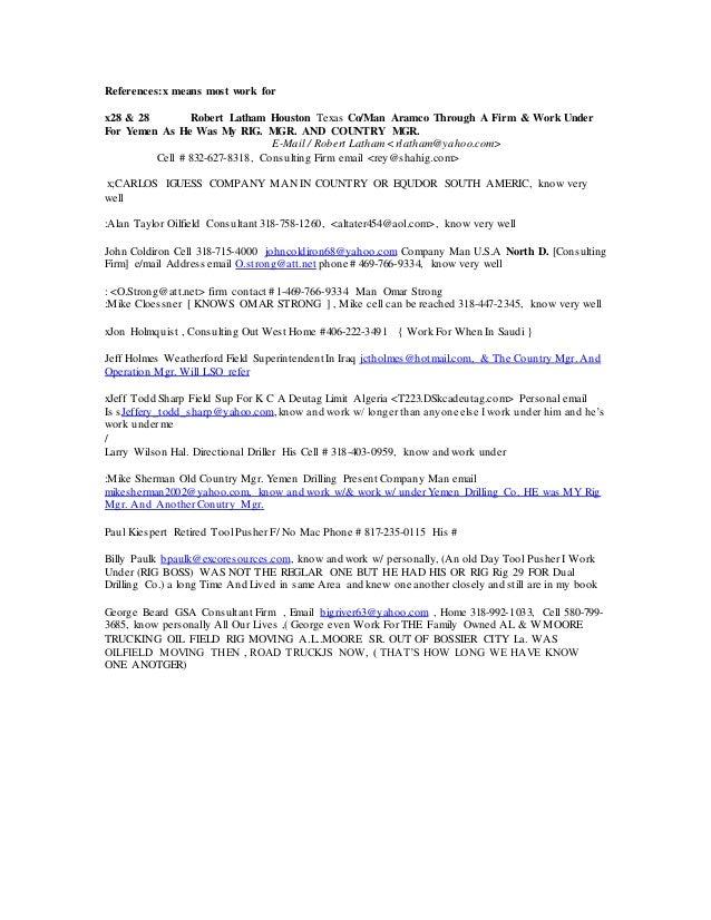 mark cv resume