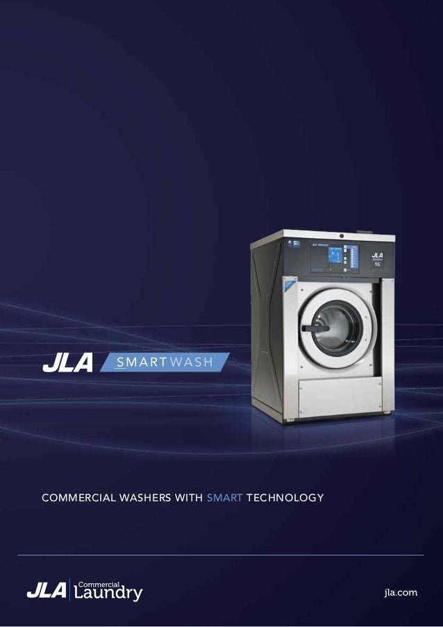 COMMERCIAL WASHERS WITH SMART TECHNOLOGY