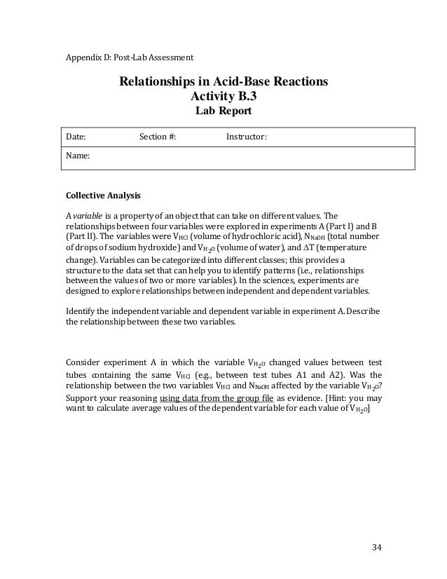 Sodium hydroxide and hydrochloric acid temperature change Coursework