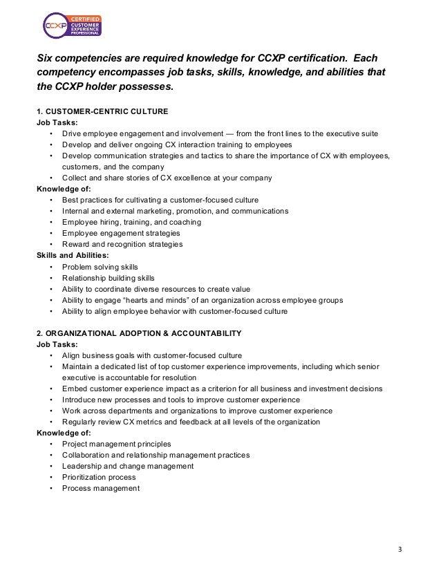 Significance of CCXP Certification Slide 3