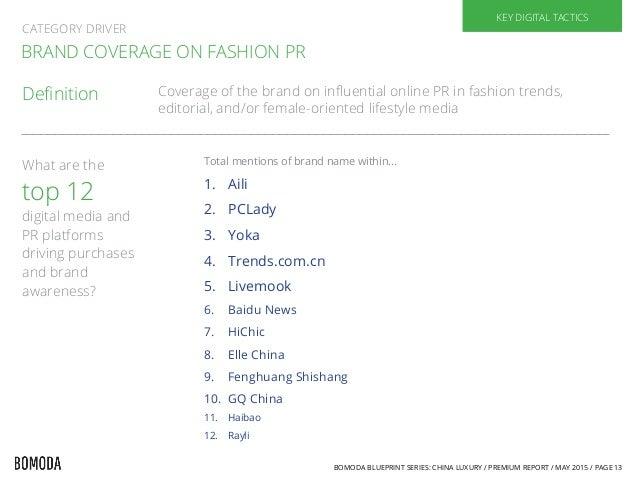 54a797f1715d Impact on Brand by Fashion Media  13. BOMODA BLUEPRINT ...