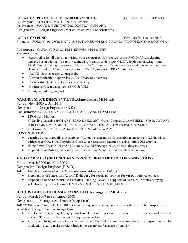 Luxury Toyota Engineering Resume Pictures - Best Resume Examples by ...